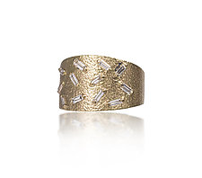 18k Gold Ice Ring by Elizabeth Garvin (Gold, Silver & Stone Rings)