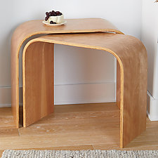 Nesting Tables by Richard Judd (Wood Side Table)
