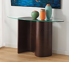 Wave Console by Richard Judd (Wood Console Table)