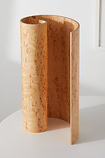 Spiral Lamp by Richard Judd (Wood Table Lamp)