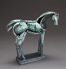 Tribute Series, Gray Morning by Jeri Hollister (Ceramic Sculpture)