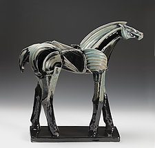 Approaching Spring by Jeri Hollister (Ceramic Sculpture)