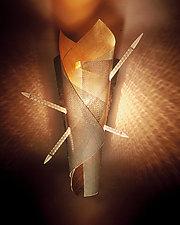 St. Sebastian's Night Light by Rick Melby (Metal Sconce)