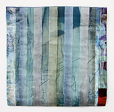 Deep by Joan Schulze (Fiber Wall Hanging)