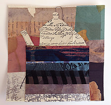 Teapot 8 by Joan Schulze (Mixed-Media Collage)