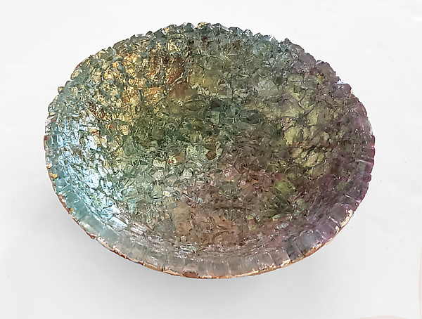 Double Metallic Bowl