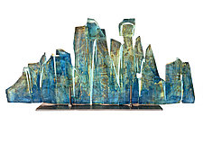 Dreamscape 99 by Mira Woodworth (Art Glass Sculpture)