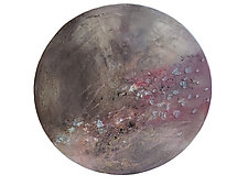 Solstice Full Moon by Mira Woodworth (Mixed-Media Wall Sculpture)