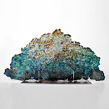 Dreamscape 80 by Mira Woodworth (Art Glass Sculpture)