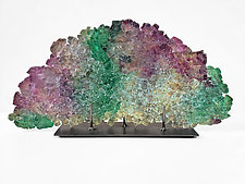 Dreamscape 128 by Mira Woodworth (Art Glass Sculpture)