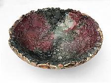 Syrah Vessel by Mira Woodworth (Art Glass Bowl)