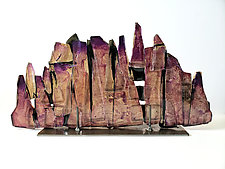 Dreamscape 100 by Mira Woodworth (Art Glass Sculpture)