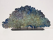 Dreamscape 129 by Mira Woodworth (Art Glass Sculpture)