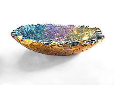 Twilight Bowl by Mira Woodworth (Art Glass Bowl)