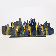 Dreamscape 103 by Mira Woodworth (Art Glass Sculpture)
