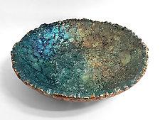 Coronado Bowl by Mira Woodworth (Art Glass Bowl)