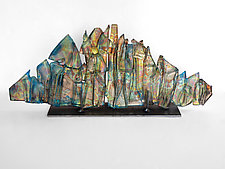 Dreamscape 96 by Mira Woodworth (Art Glass Sculpture)