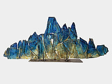 Dreamscape 108 by Mira Woodworth (Art Glass Sculpture)