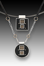 Chris Necklace by Eileen Sutton (Gold & Silver Necklace)