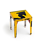 Pop! Transit Table by Boris Bally (Metal Side Table)
