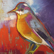 New Bird in Town by Joan Skogsberg Sanders (Giclee Print)