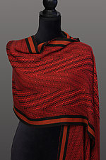 Deep V Shawl by Pamela Whitlock (Bamboo Shawl)