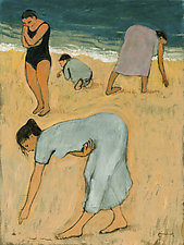 Beach Combers by Brian Kershisnik (Giclee Print)