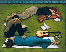 Dormientes Musici by Brian Kershisnik (Giclee Print)