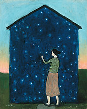Star House by Brian Kershisnik (Giclee Print)