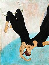Acrobat Lovers by Brian Kershisnik (Giclee Print)