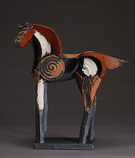 Tribute Series, Internal and External Harmony by Jeri Hollister (Ceramic Sculpture)