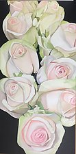 Roses for Sale by Barbara Buer (Oil Painting)