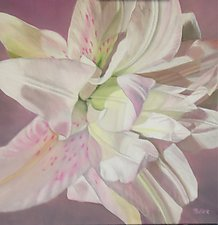 Lily by Barbara Buer (Oil Painting)