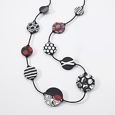 Amelie Necklace by Klara Borbas (Polymer Necklace)