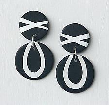 Rita Earrings by Klara Borbas (Polymer Earrings)