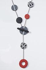 Valerie Necklace by Klara Borbas (Polymer Clay Necklace)