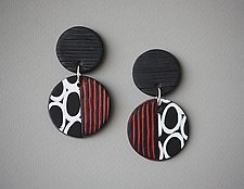 Agnes Earrings by Klara Borbas (Polymer Clay Earrings)