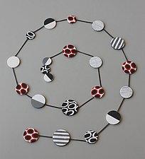 Agnes Necklace by Klara Borbas (Polymer Clay Necklace)