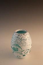 Glacial Vase by Richard S. Jones (Art Glass Vase)