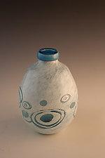 Glacial Vase 2 by Richard S. Jones (Art Glass Vase)