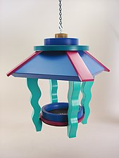 Carnival Feeder by A. Andrew Chulyk (Wood Bird Feeder)