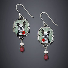 Babylove Earrings by Dawn Estrin (Silver Earrings)