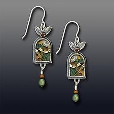 Terrarium Earrings by Dawn Estrin (Silver Earrings)