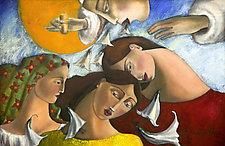 Las Tres Marias, The Three Marias by Armando  Adrian-Lopez (Giclee Print)