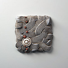Flow Cycle Triptych by Christopher Gryder (Ceramic Wall Sculpture)