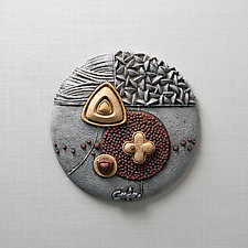 Luminescence by Christopher Gryder (Ceramic Wall Sculpture)