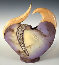 Bean by Jan Jacque (Ceramic Sculpture)