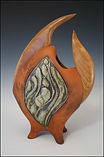 Salsa by Jan Jacque (Ceramic Sculpture)