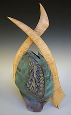 Crosswind by Jan Jacque (Ceramic Sculpture)