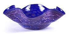 Floppy Bowl by Thomas Kelly (Art Glass Bowl)